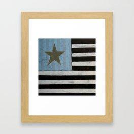 Star Flagger Framed Art Print