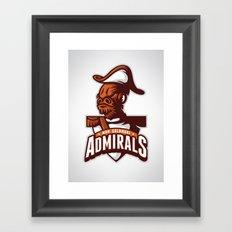 Mon Calamari Admirals Framed Art Print