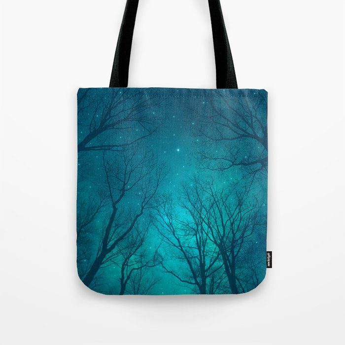 Only In the Darkness Tote Bag