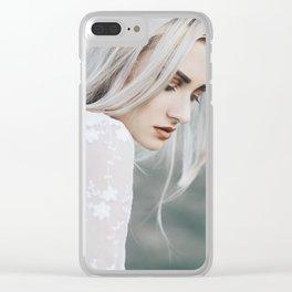 Blond Clear iPhone Case