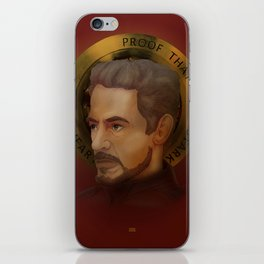 Saint Stark iPhone Skin