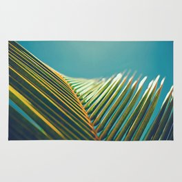 Palm Leaves in the Sun Rug