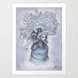 Spectre Art Print