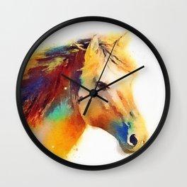 The Spirited - Horse Wall Clock