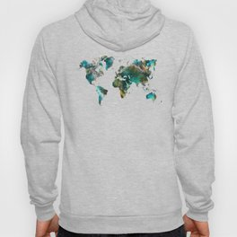 Map of the World tree #map #world Hoody