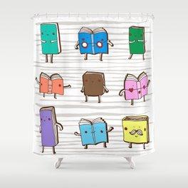 Book club Shower Curtain