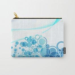 les bulles bleues Carry-All Pouch