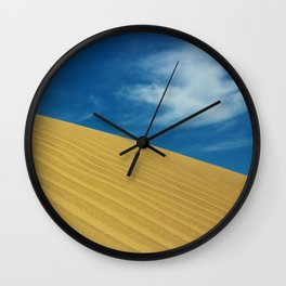 Waves Of Sand Wall Clock