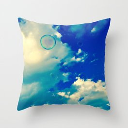 Happiness Photography Throw Pillow