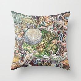 A Midsummer Night's Dream (Not Shakespeare's) Throw Pillow