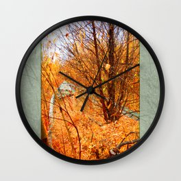 Grounded Wall Clock