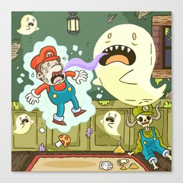 Super Mario Party Canvas Print