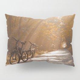 Morning Autumn Forest Pillow Sham