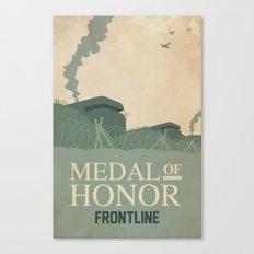 Medal of Honour - Frontline Canvas Print