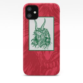 Here Comes Krampus! iPhone Case
