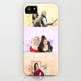 swan queen: every world iPhone Case