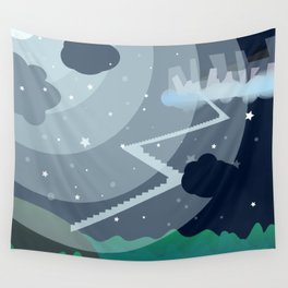 Tir-na Nog'th Stairs Wall Tapestry