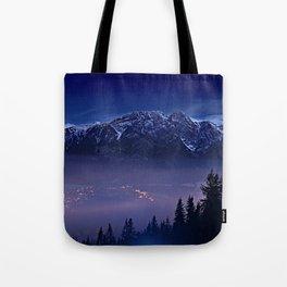 The Mountain's Dream Tote Bag