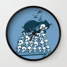 Grim Sleeper Wall Clock