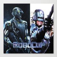 robocop Canvas Prints featuring Robocop by store2u