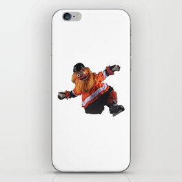 Gritty Flyers Mascot iPhone Skin