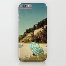 Blue Beach Umbrella Slim Case iPhone 6s