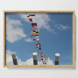 Nautical Flags Serving Tray