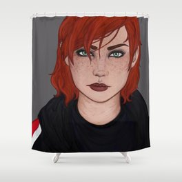 Jane Shepard Shower Curtain