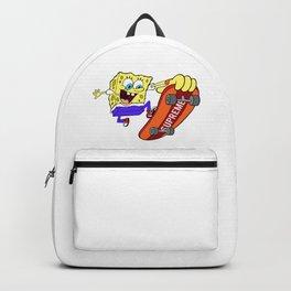 spongebob skate sup Backpack