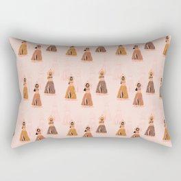 Belly Dancers Rectangular Pillow