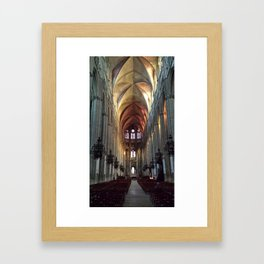 Cathedral loneliness Framed Art Print