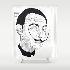 DALI Shower Curtain