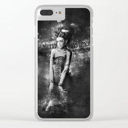 Bitter ending year Clear iPhone Case
