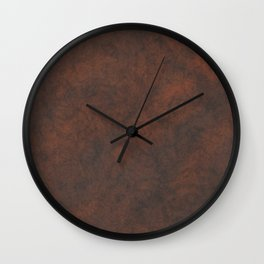 Rusty Rock Stone Wall Wall Clock