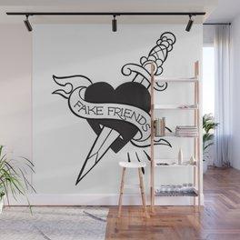 Fake Friends Wall Mural