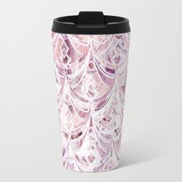 Berry Frosting Art Deco Pattern  Travel Mug