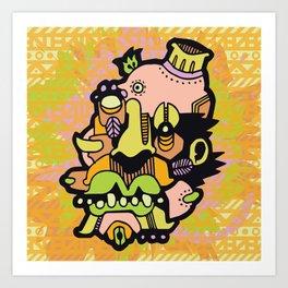 RUBYFRUIT Art Print