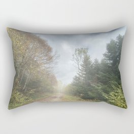 On the way to paradise Rectangular Pillow