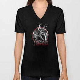 Tesla: God of Thunder Unisex V-Neck