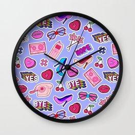 Girl things Wall Clock