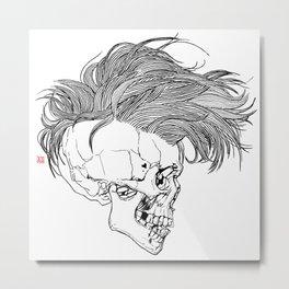 Death is New Punk Metal Print