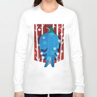pigeon Long Sleeve T-shirts featuring Pigeon by bbay