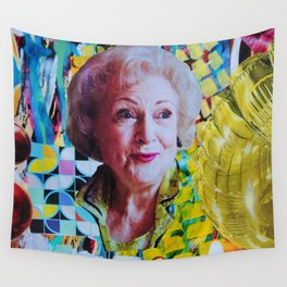 Betty White Wall Tapestry
