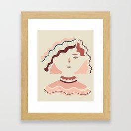 Hello Sophia Framed Art Print
