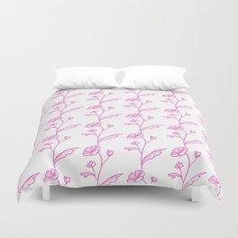 Juliette Pink Duvet Cover