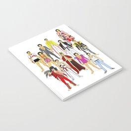 Freddie Line Up Notebook