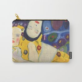 Klimt Girls Carry-All Pouch