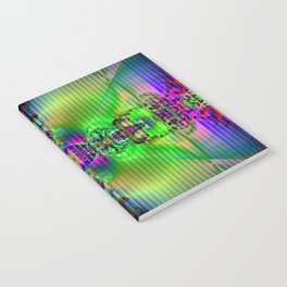 Abstract Fractal Fantasy 3 Notebook