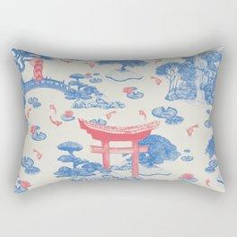 Japanese Garden Rectangular Pillow