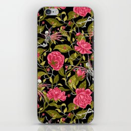 Death of Summer (black and rose) iPhone Skin